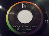 Little Richard Dance What You Wanna / Without Love 45 1965 Vee Jay Vinyl Record
