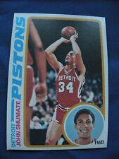 1978-79 Topps John Shumate Pistons card #46 basketball NBA S&H $1