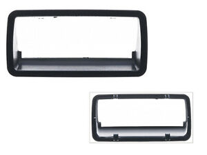 For Textured Black Tailgate Handle Bezel Rear 94-04 S10 94-04 Sonoma GM1916103