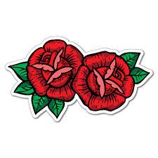 Red Roses Sticker Tattoo Art Sailor  #6949LS