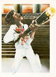 Rolling Stones, WEA Werbekarte zur LP It's Only Rock 'n Roll, 1974, Top Zustand