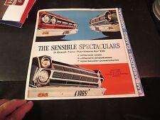 Original 1965 Rambler Ambassador, Classic,  American Sales Brochure