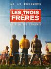 Affiche 120x160cm LES TROIS FRÈRES 1995 Campan, Bourdon, Pascal Légitimus TBE