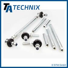 TA Technix - 2 verstellbare Koppelstangen / Set - VW Golf 5, 6, Audi A3 8P, Leon