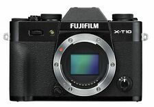 Fujifilm Mirrorless Single-Lens X-T10 Body Black X-T10-B