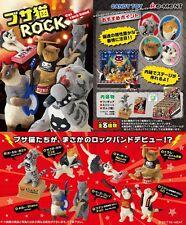 Re-Ment Miniature Cat Rock Band Toy Figure Full set of 8 pcs
