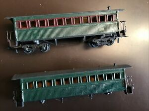 HO GAUGE MANTUA TYCO RAILWAY PASSENGER COACHES (2)