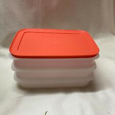 Tupperware - Gefrierdosen - Freeze´N Fresh  - Eis-Kristall - 3 x 675ml - AG