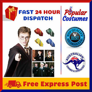 Harry Potter Kids Adult Robe Cloak Gryffindor Halloween Costume with School Tie