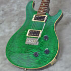PAUL REED SMITH (PRS) CUSTOM 22 10TOP QUILT WIDE-FAT EMERALD GREEN for sale