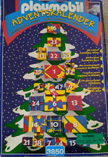 Playmobil 3850 Advent Calendar Christmas tree Santa & Animal Figures Toys Sleigh
