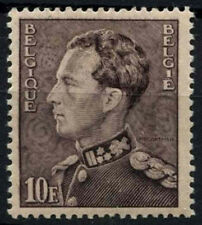 Belgium 1936-51 SG#768a 10f Purple-Brown King Leopold III Definitive MH #D48233