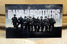 """""""Band of Brothers"""" World War 2 Tv Series Tabletop Standee 10 3/4"""" Long X 6 1/2"""""""