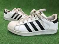 Adidas Originals Superstar Foundation Big Kids Size 6 Youth White Black C77154