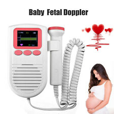 LCD Baby Fetal Doppler Heart Monitor Portable Ultrasound Fetal Heart Monitor Al