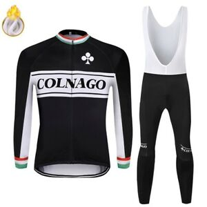 2020 COLNAGO men winter thermal bike clothes windproof rode bicycle clothing new