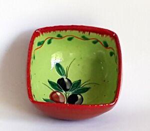 Spanish Terracotta Square Bowl 12.5 x 12.5 cm