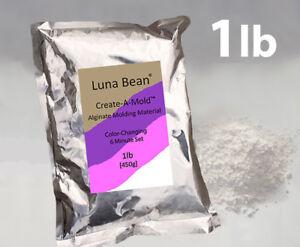 1lb Luna Bean ALGINATE MOLDING POWDER Material Life Casting Mold Gel (Step 1)