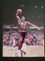 MICHAEL JORDAN CHICAGO BULLS NBA 8X10 COLOR PHOTO PICTURE