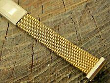 Vintage Evinger Ladies 13mm Watch Band Stainless Steel Mesh Expansion Unused NOS