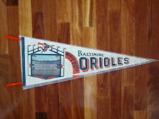 1966 Baltimore Orioles N. L. Champs World Series Full Team Photo Cloth Pennant