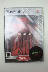 RESIDENT EVIL 4 - PAL/fr Scellé PS2 - 27% de REDUCTION pour 3 JEUX ACHETES