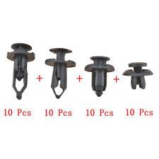 40pcs Car Push Retainer Pin Body Bumper Rivet Trim Moulding Clip Fit Most Models