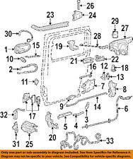 GM OEM Side Sliding Door-Harness Right 15353745