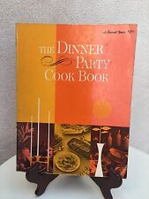 Vintage 1969 Sunset Book The Dinner Party Cook Book Paperback