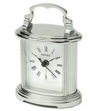 Silver Antique Style Desk, Mantel & Carriage Clocks