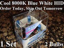 H11 8000K Blue White Xenon HID Fog Light 12V 55W 2 Halogen Light Bulbs