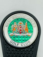 New South Wales Golf Club Switchblade Divot Tool Polymer Ball Marker Member Only