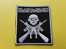 POP, ROCK, PUNK, METAL MUSIC SEW ON & IRON ON PATCH:- IRON MAIDEN