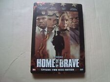HOME OF THE BRAVE DVD SteelBook Blu-Ray Jessica Biel 50 Cent Chad Michael Murray
