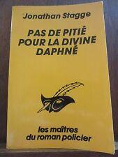 Jonathan Stagge: Pas de pitié pour la divine Daphné/ Le Masque N°1833