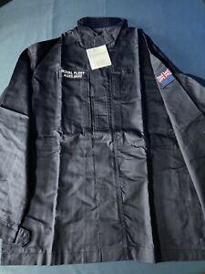 NEW Royal Navy PCS Combat Shirt Jacket Warm Weather FR RFA Navy Blue Size200/104