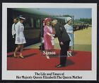1985 SAMOA LIFE & TIMES OF THE QUEEN MOTHER MINISHEET FINE MINT MNH/MUH