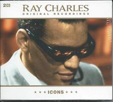 Ray Charles - Icons [The Best Of / Greatest Hits] 2CD NEW/SEALED