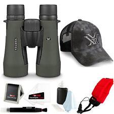 Vortex Diamondback 10x50 Binocular w/ Foam Float Strap & Accessory Bundle