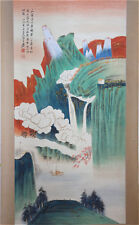 Excellent Chinese 100% Hand Painting & Scroll Landscape By Zhang Daqian 张大千 P316