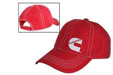Cummins Diesel Engines Contrast Stitch Red & White Cap/Hat