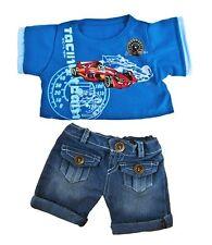 "Teddy Bear Cool Racer Outfit, fits 16"" teddy mountain and Build a Bear"