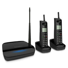 EnGenius FreeStyl 2 (2 Handset) Long Range 900 MHz Cordless Telephone System NEW