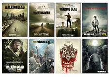 the walking dead season 1 2 3 4 5 amc new Movie tv Postcard 8pcs per set