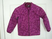 The North Face, Girls Size 6, Magenta, Quilted Zip Front Jacket