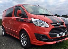 FORD TRANSIT CUSTOM MSPORT BONNET AND SIDE STRIPE KIT DECALS STICKERS GRAPHICS