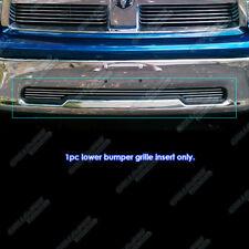Fits 2009-2012 Dodge Ram 1500 Pickup Bumper Billet Grille Grill Insert