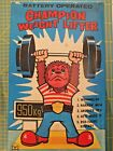 Yanoman Toys 5885Japan Champion Weight Lifter batteria cm25 anni 80 mint in box