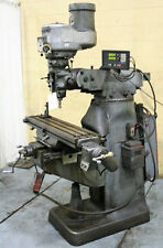 Bridgeport Vertical Mill Milling Machine 1.5 HP Power Feeds  (#27197)