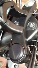 TRIUMPH  ROCKET 3 - BILLET FORK NUT COVERS PLAIN